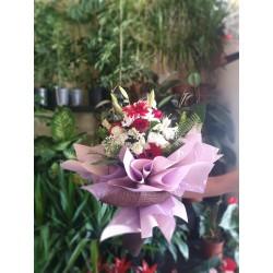 Mevsim çiçeği buket