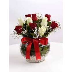 Çiçek sepeti çikolata kutusu